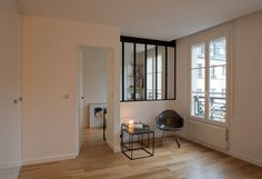 Salon, architecte Mélanie Lallemand Flucher, photo Hélène Hilaire