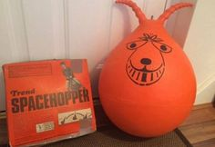 Space Hoppers. A bouncy toy from the 1970s. Every home had one. HouseOfMirelle.uk