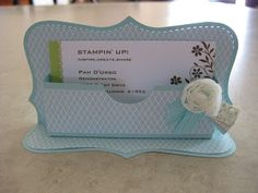 How to make a business card holder diy tutorial stephanie francis top note card holder 416 reheart Gallery