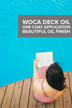 Professional Deck Wood Finish - Easy for anyone Outdoor Wood Projects, Wood Surface, Types Of Wood, Wood Grain, Deck, How To Apply, It Is Finished, Easy, Beautiful