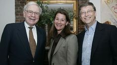 Millionaires who help people in need - I love Melinda and Bill Gates