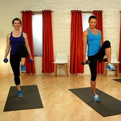 I love these workouts!!! 10-Minute Full-Body Workout With P90X's Tony Horton Several 10 minute exercise videos from Cross fit, yoga, zumba and P90X