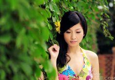 apenas lindas mulheres: Chun Yan de Chongqing, mulher, livre, asiático