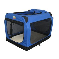 $36.95 on Wayfair.  Go Pet Club Travel Pet Crate in Blue.    Has great reviews but for dogs and cats; no mention of rabbits.