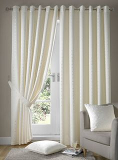 eyelet curtains - £60 linen4less out of stock