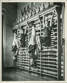 Women's athletics at Russell Sage College, Troy, New York ca. 1937-1946