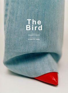 "skt4ng:  ""The Bird"" | Charlotte Carey by Markus Pritzi for Sleek..."