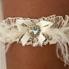 My new beautiful Wedding garter