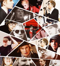 Patrick Stump!From the time he was chubby to the time he shaved his sideburns.He still and will always be Patrick.