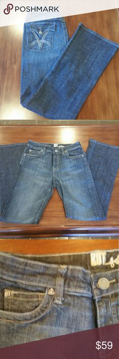 KUT from the Kloth bootcut jeans KUT from the Kloth bootcut jeans. Style number KP259A1M05.  In excellent condition Kut from the Kloth Jeans