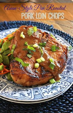 Better than take out and ready in under 30 minutes, these pork chops are coated with a sticky, sweet, savory glaze that is simply mind-blowing.