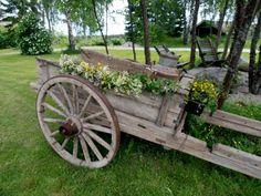 Riitan puutarha ja mummolan riepumatto | Mummon puuhailuja ...