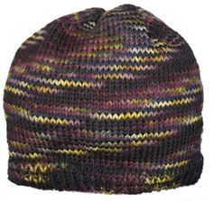 free aran beanie hat knitting pattern