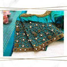 Kerala Saree Blouse Designs, Cutwork Blouse Designs, Kids Blouse Designs, Embroidery Suits Design, Hand Embroidery, Cut Work Blouse, Mirror Work Blouse Design, Stylish Blouse Design, Designer Blouse Patterns