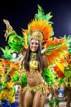 Folklore, Woman at Carnival Rio de Janeiro / CARNIVAL DO .You can find Brazil and more on our website.Folklore, Woman at Carnival Rio de Jan. Brazilian Carnival Costumes, Rio Carnival Costumes, Costume Carnaval, Samba Costume, Carnival Outfits, Rio Carnival Dancers, Caribbean Carnival Costumes, Carnival Signs, Carnival Decorations