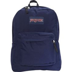 JanSport Superbreak Backpack- Sale Colors - Navy Moonshine - School...  ( 28) ❤ liked on Polyvore featuring bags 26de0b870a952