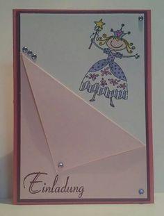 Einladung zum Kindergeburtstag ; Stampin Up ; www.kreativ-verliebt.de
