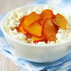 Cottage cheese with fruit is perfect pre-workout fuel. The cottage cheese is high in protein and will keep you full, and the fruit is a healthy carb to give you energy to power through your workout. Eat 1 serving of nonfat or low fat cottage cheese, slice up a banana, some berries, and/or a peach, and you're good to go. Feel free to add 1/4 cup of chopped almond for some heart-healthy fats.