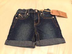 Revolution by Revolt Girls' Denim Shorts, Size: 2T #RevolutionbyRevolt #Shorts #Everyday #2T #Size2T #RevolutionbyRevoltGirls #RevolutionbyRevoltDenim #RevolutionbyRevoltShorts #GirlsDenimShorts
