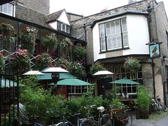 Cambridge The Eagle pub, Love this place, remember after class? the pints, or coffee, and chess?!