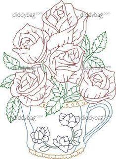 Diddybag Set 12234 - Semi Exc. Flores en Maceta