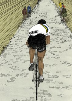 Digital prints – cycling ‹ Eliza Southwood – Illustrator
