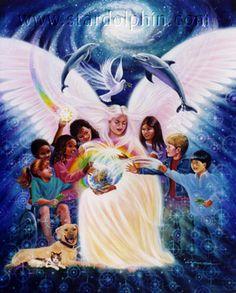 Planeta Azul Índigo: Crianças Arco-Íris
