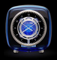 """Atmos 566 Clock"" Marc Newson for Jaeger Le-Coultre"