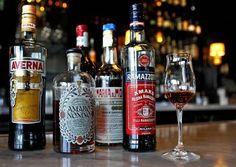 """[T]here's a cross-pollination as mixologists experiment with subbing amaro for Campari or sweet vermouth in cocktails. """"An old-fashioned made with amaro is really fun,"""" says Parsons. """"You can make a million different Manhattans with the lighter styles substituted for sweet vermouth."""""""
