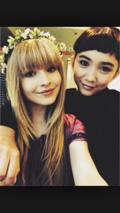 Me and my bff Rowan Blanchard follow me and her pleaseeee and anfter follow you