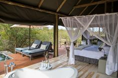 Raptor Retreat Game Lodge is located in the Balule Parsons Game Reserve and offers luxury accommodation for a honeymoon or intimate safari wedding