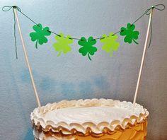 Irische Hochzeitstorte Topper Garland von BethsBannerBoutique
