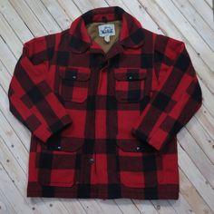 Woolrich Mackinaw Field Coat wool jacket by TwoGuysGoodBuys