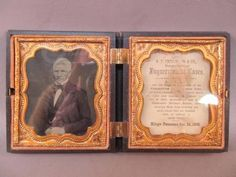 shopgoodwill.com: Pair Ambrotype Photographs in Hinged Union Case