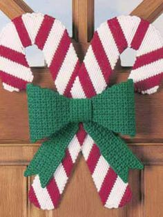 Plastic Canvas - Special Occasions - Christmas - Peppermint Twist - #FP00278