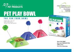 2 IN 1 PET PLAY BOWLS - COLOR BLUE ** Find out more about the great product at the image link. (This is an affiliate link and I receive a commission for the sales)