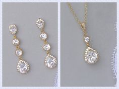 Pin by Sharon D on One fine day Pinterest Bridesmaid jewelry