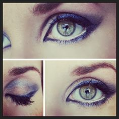 Blue cat eye how-to