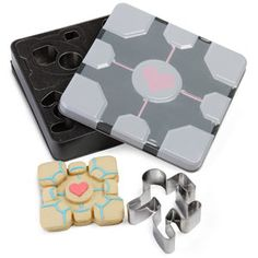 Portal Cookie Cutters - yes please.