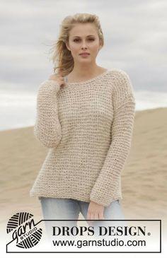 MES FAVORIS TRICOT-CROCHET: Modèles gratuits : Pulls d'été au tricot