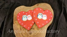 Valentine Owl Cookie