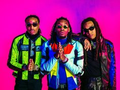 Quavo, Offset and Takeoff, of Atlanta trio Migos, are at the forefront of rap's latest wave Migos Wallpaper, Kids Choice Awards, Free Rap, Rap Singers, Hip Hop Instrumental, Full Show, Chance The Rapper, Great Albums, Young Thug