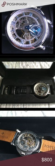 Casablanca Watch https://youtu.be/fS0gyir-T0A Tufina Casa Blanca. Bran New in Original box, with Paper Work. These usually sell for 1200 (attached here are two web links, one to the actual website and one to their YouTube video for the watch)  https://tufinawatches.com/collections/casablanca/products/casablancagm-101-1 Theorema Accessories Watches