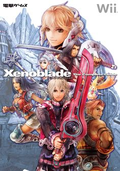 Xenoblade Chronicles - Complete Guide Cover