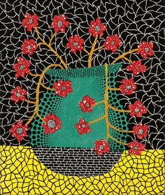 Kusama Yayoi?, born March 22, 1929) is a Japanese artist and writer. Throughout her career she has worked in a wide variety of media, including painting, collage, sculpture, performance art and environmental installations, most of which exhibit her thematic interest in psychedelic colors, repetition and pattern.