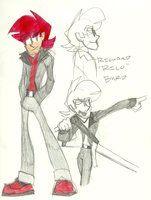 Byrd and Jones - Cast - Richard (Rico) Byrd by LanceOliverFreidom