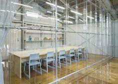 Blue Bottle Coffee Kiyosumi-Shirakawa Roastery & Café by Schemata Architects, Tokyo – Japan Lobby Boy, Diy Interior Doors, Blue Bottle Coffee, Design Blog, Store Design, Factory Design, Design Furniture, Cafe Restaurant, Living Room Kitchen