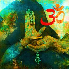 Picture of Om sign with Buddhist hands. stock photo, images and stock photography. Happy Sunday, Reiki, Mantra, Namaste, Om Sign, Carlos Castaneda, Mudras, Mind Body Soul, Photo Illustration