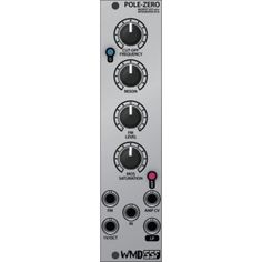 Steady State Fate - WMD - Pole-Zero - a special filter that gives a warm kind of saturation to your audio signals - in stock!