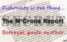 The McCrone report: If you haven't read it, Google it now!